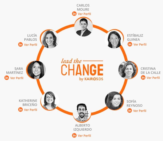 Lead the change team